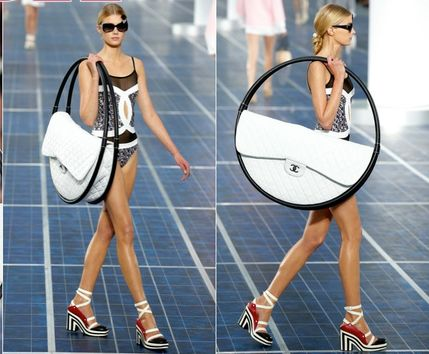 aff1350e42a39f Karl Lagerfeld Gets Silly Designs Hula Hoop Beach Bag For Chanel
