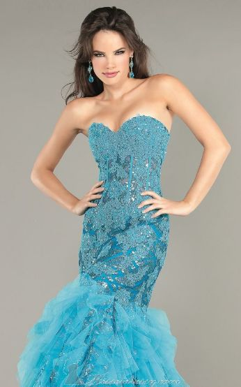 gorgeous! Jovani mermaid style gown for prom