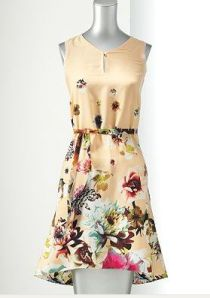 Simply Vera Vera Wang High-Low Floral dress