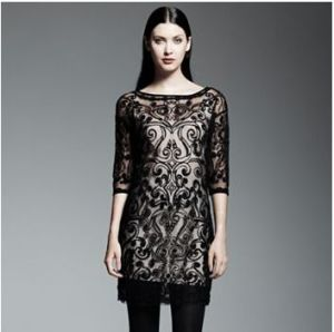 Beautiful embroidered shift dress. Wonderful for Special Occasions