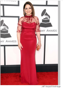 Gloria Estefan at Grammys 2014