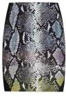 DvF Mae printed satin-paneled jersey skirt--$245 at Net-a-Porter.com