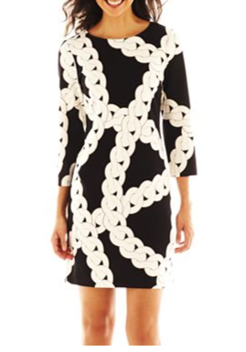 Love this crazy-bold rope print from Worthington at JC Penney.