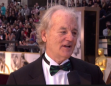 Bill Murray sports a W.C. Fields nose and Crazy Professorhead hair at the Oscars