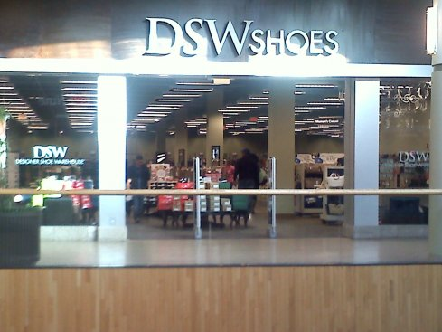 My local DSW on a Friday afternoon...
