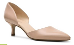 Nine West Selena D'Orsay Pump with Kitten heel