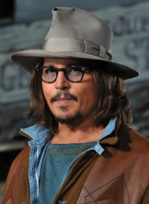 Obviously, this dove gray fedora is one of Johnny's favorites...