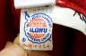 the red, white, and blue ILGWU label--later 20th Century