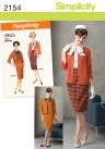 """one of the many great Simplicity patterns for making your own """"vintage"""" clothing. Click for more info"""